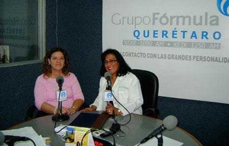 Dra. Irma Quintanilla y Dra. Rebeca Rivera